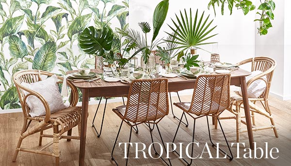 Meer producten uit de look »Tropical table«