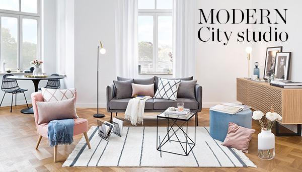 Modern city studio