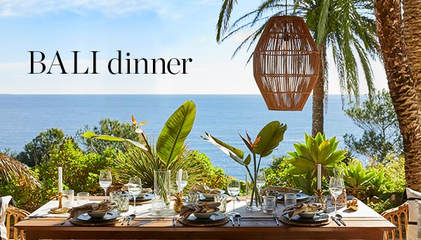 Bali dinner