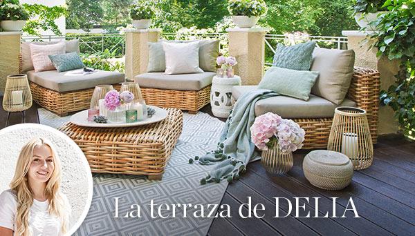 La terraza de Delia