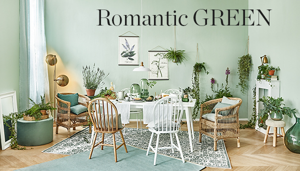 Autres articles du look »Romantic green«