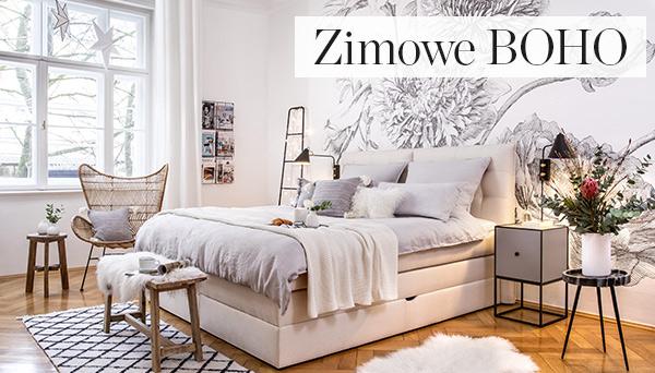Inne produkty z aranżacji »Sypialnia Snow Boho«