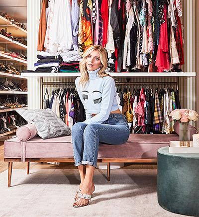 Chiara's closet