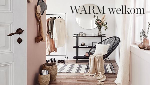 Meer producten uit de look »Warm welkom!«
