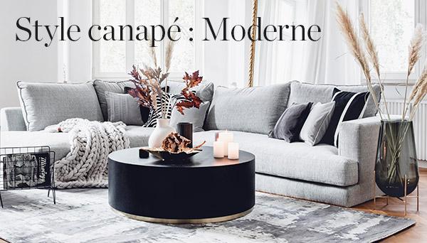 Autres articles du look »Canapé : Moderne«
