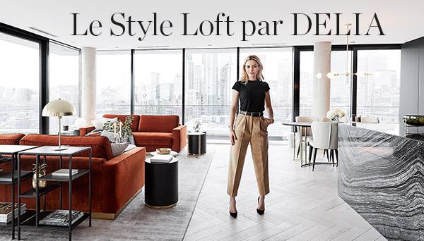 Autres articles du look »Style loft par Delia«
