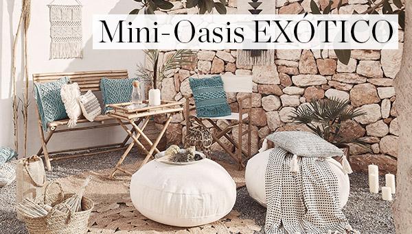 Mini oasis exótico