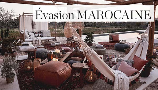 Autres articles du look »Évasion marocaine«