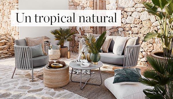 Un tropical natural
