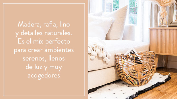 Natural y chic
