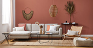 Sofa-Styling: Boho
