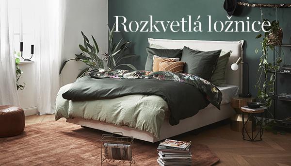 Rozkvetlá ložnice