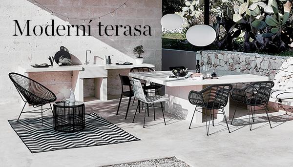 Další výrobky z aranžmá »Moderní terasa«