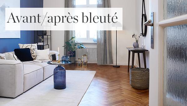 Autres articles du look »Avant/après bleuté«
