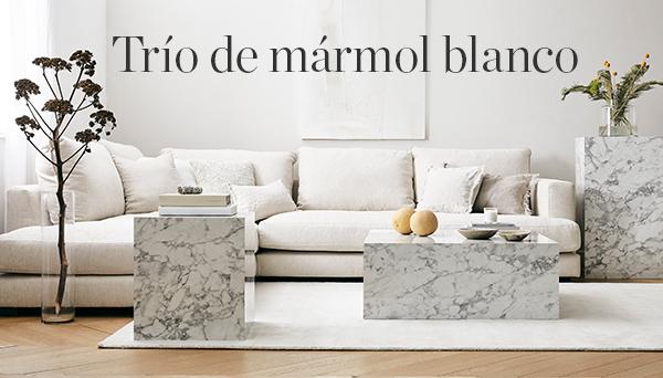 Otros productos del Look »Mármol en blanco«