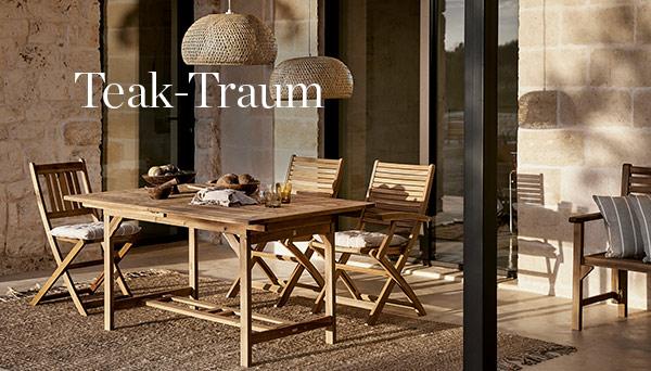 Andere Produkte aus dem Look »Teak-Traum«