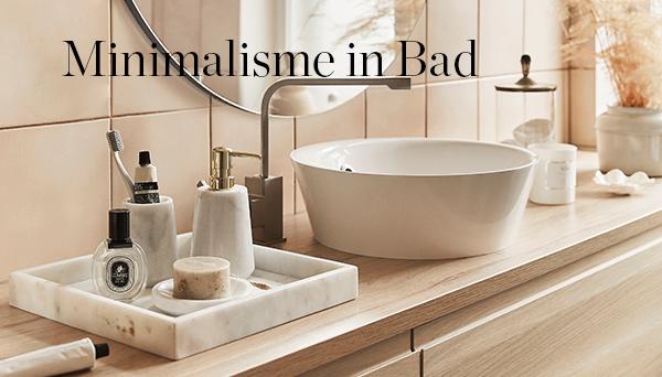 Meer producten uit de look »Minimalisme in bad«