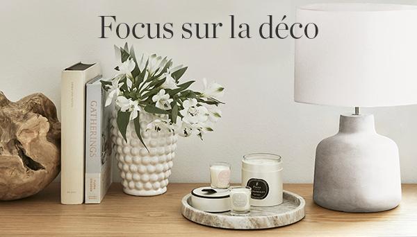Autres articles du look »Focus sur la déco«