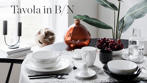 Altri prodotti del Look »Tavola in B/N«
