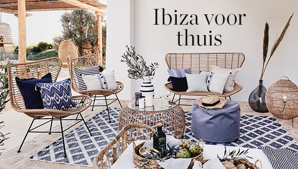 Meer producten uit de look »Ibiza voor thuis«