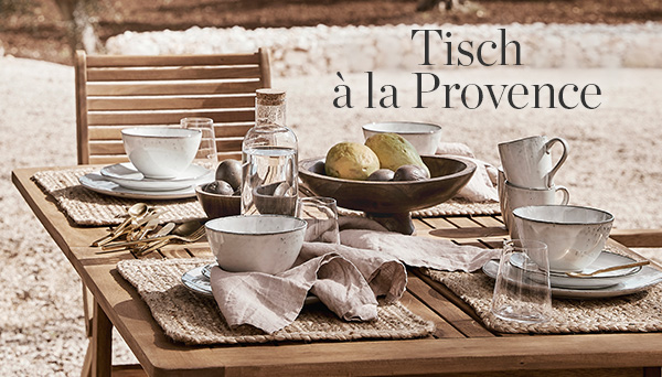 Andere Produkte aus dem Look »Tisch à la Provence«