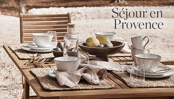 Autres articles du look »Séjour en Provence«