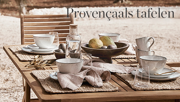 Meer producten uit de look »Provençaals tafelen«