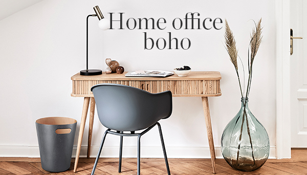 Home office boho