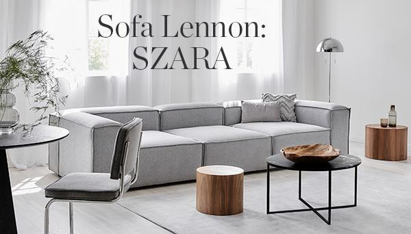Inne produkty z aranżacji »Sofa Lennon: szara«
