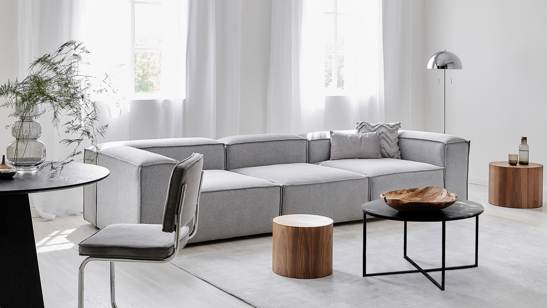 Sofa Lennon: szara