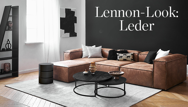 Andere Produkte aus dem Look »Lennon-Look: Leder«