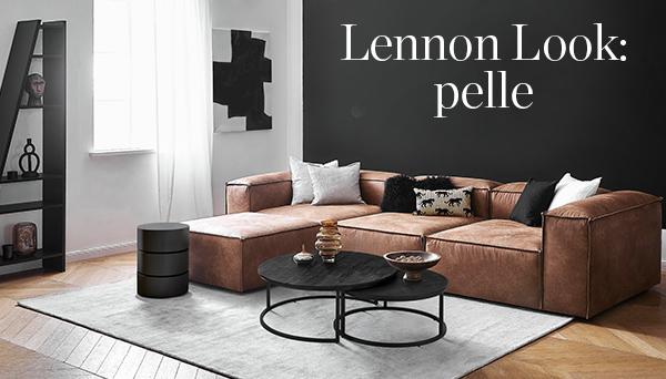 Lennon look: pelle