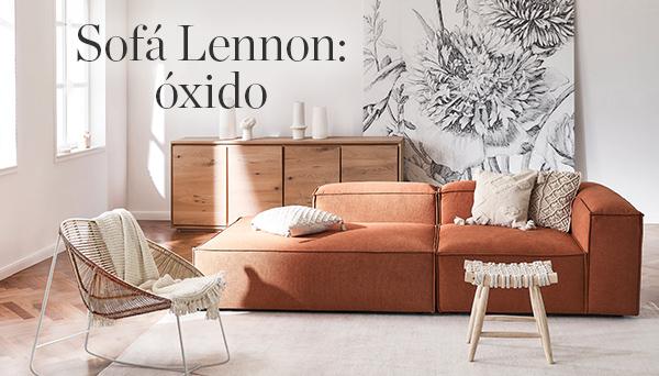 Otros productos del Look »Sofá Lennon: óxido«