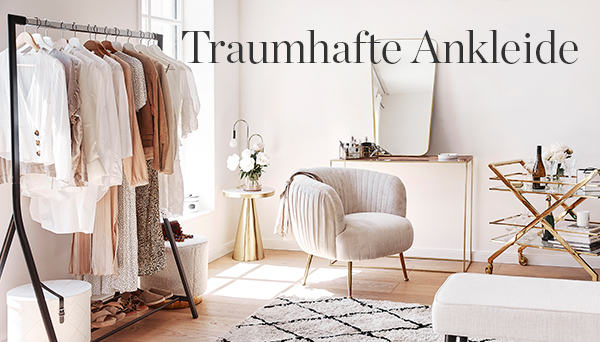 Traumhafte Ankleide