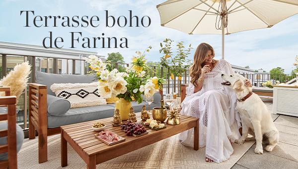 Autres articles du look »Terrasse boho«