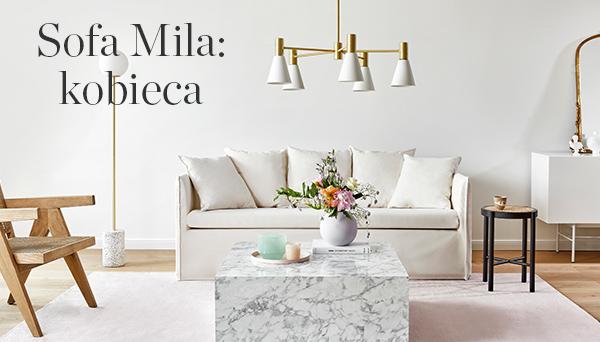 Inne produkty z aranżacji »Sofa Mila: Feminine«