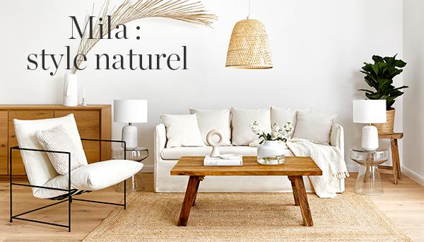 Autres articles du look »Mila: style naturel«