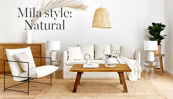 Meer producten uit de look »Mila style: natural«