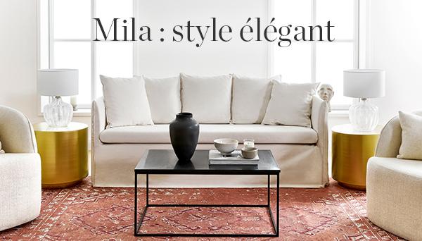 Autres articles du look »Mila: style élégant«