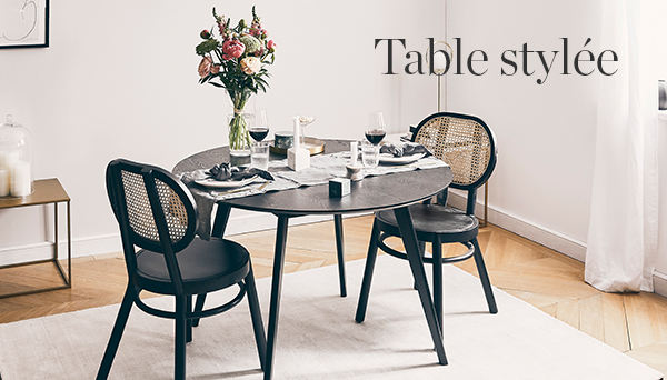 Autres articles du look »Table stylée«