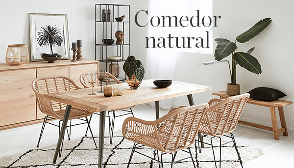 Otros productos del Look »Comedor natural«