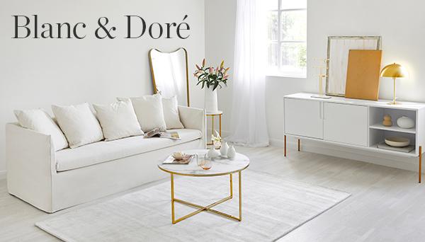 Autres articles du look »Blanc & Doré«