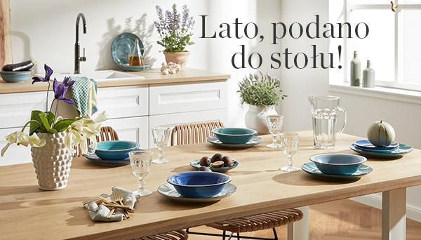 Inne produkty z aranżacji »Lato podano do stołu«