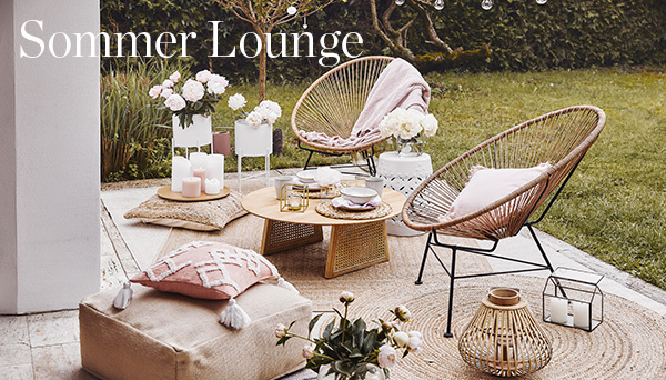 Andere Produkte aus dem Look »Sommer Lounge«