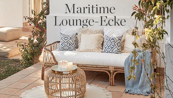 Andere Produkte aus dem Look »Maritime Lounge-Ecke«
