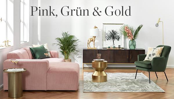 Pink, Grün & Gold
