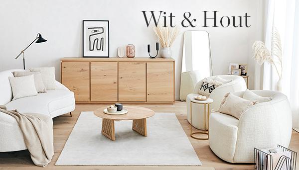 Meer producten uit de look »Wit & hout«