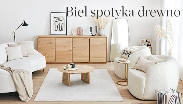 Inne produkty z aranżacji »Biel spotyka drewno«