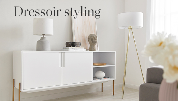 Dressoir styling