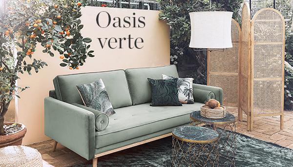 Autres articles du look »Oasis verte«